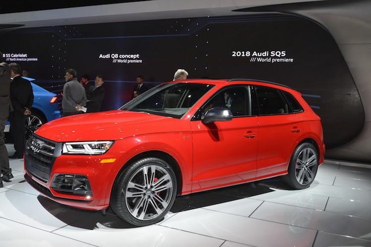 Chi tiet crossover the thao Audi SQ5 tai Detroit 2017
