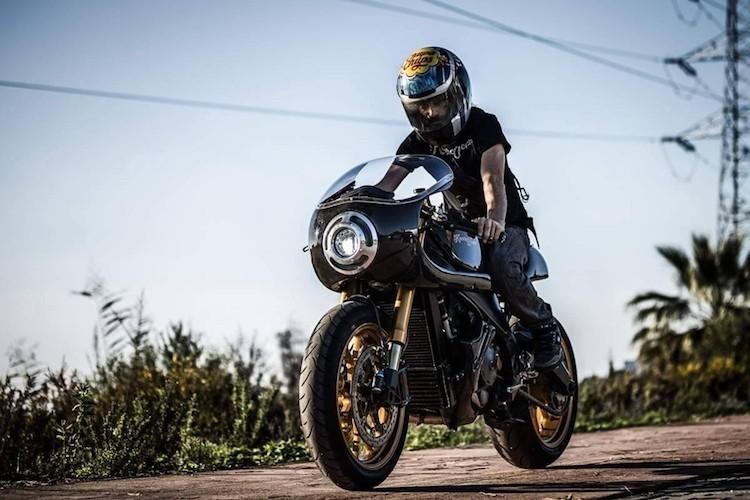"""Sieu moto Aprilia RSV 1000 """"lot xac"""" cafe racer-Hinh-10"""