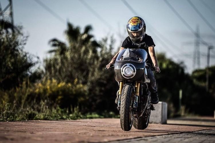 """Sieu moto Aprilia RSV 1000 """"lot xac"""" cafe racer-Hinh-2"""