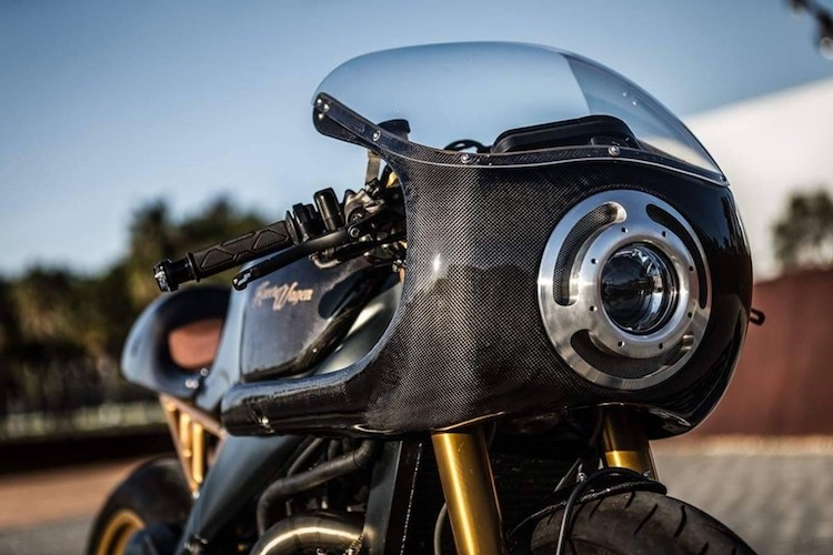 """Sieu moto Aprilia RSV 1000 """"lot xac"""" cafe racer-Hinh-3"""