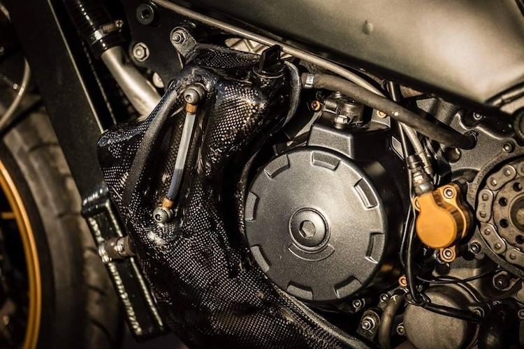 """Sieu moto Aprilia RSV 1000 """"lot xac"""" cafe racer-Hinh-6"""