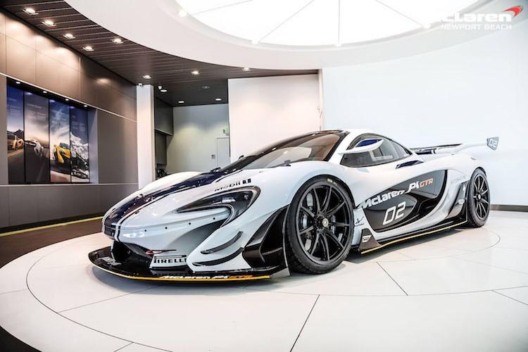 """Sieu xe the thao McLaren P1 GTR """"chot gia"""" 90,2 ty"""