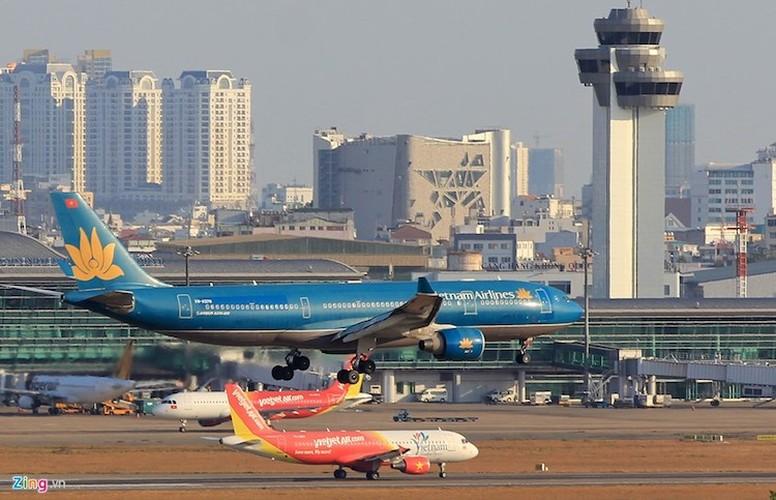 May bay ngap tren khong va duong bang tai Tan Son Nhat-Hinh-8