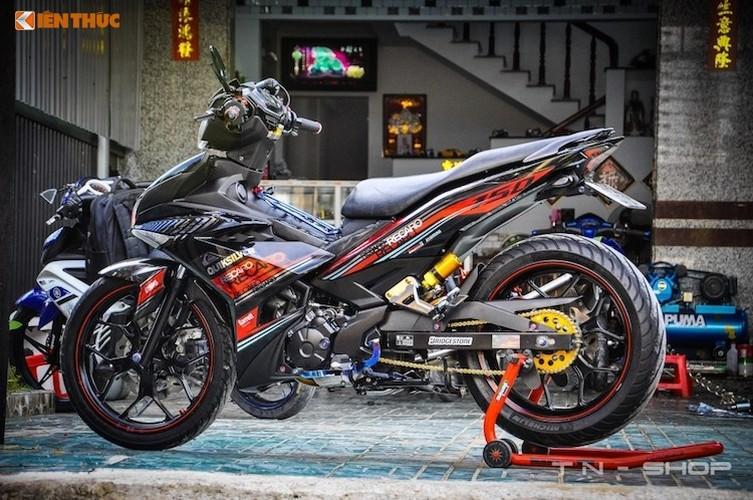 Yamaha Exciter 150 do do choi dat gia tai Viet Nam