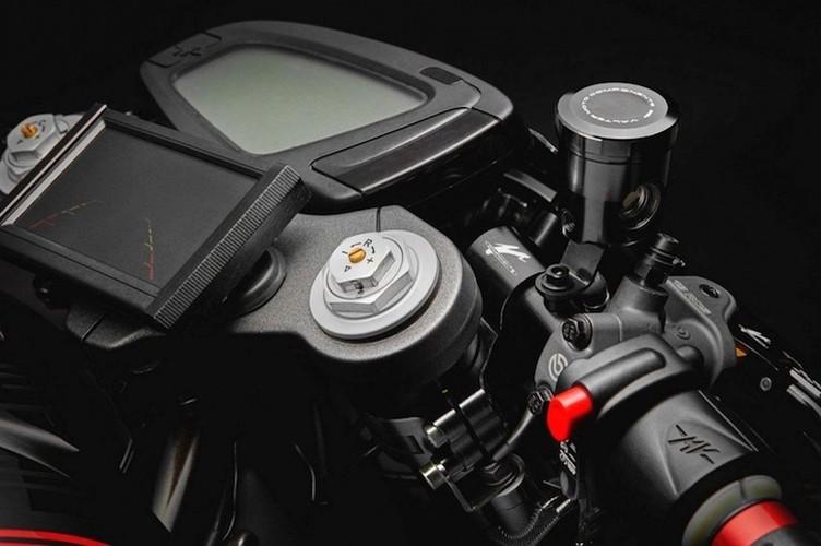 Moto MV Agusta Dragster 800 Blackout cafe racer sieu doc-Hinh-5