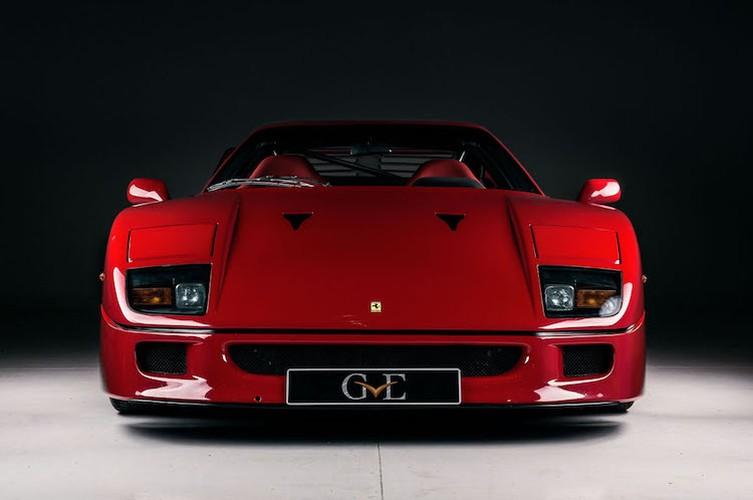"Ferrari F40 ""hang doc"" cua ca si Eric Clapton gia 26 ty"