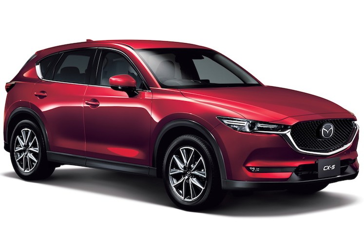 Mazda CX-5 the he moi se co phien ban 7 cho