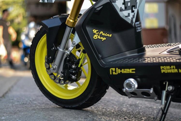 """Soi Honda Zoomer X do """"sieu doc"""" cua dan choi Thai-Hinh-3"""