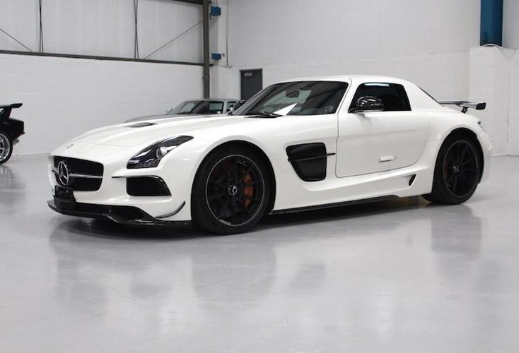 Sieu xe Mercedes SLS AMG Black Series