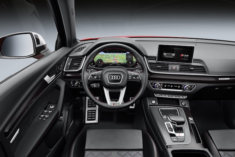"""Crossover the thao Audi SQ5 2018 """"chot gia"""" 1,4 ty dong-Hinh-4"""