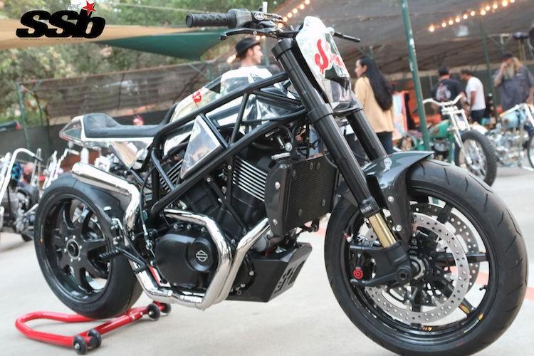 "Ngam Harley-Davidson Street 750 ""lot xac"" tracker sieu doc"