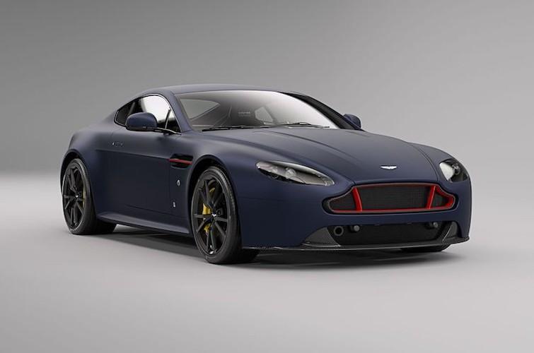 """Sieu xe Aston Martin Vantage co ban """"bo huc"""" Red Bull"""
