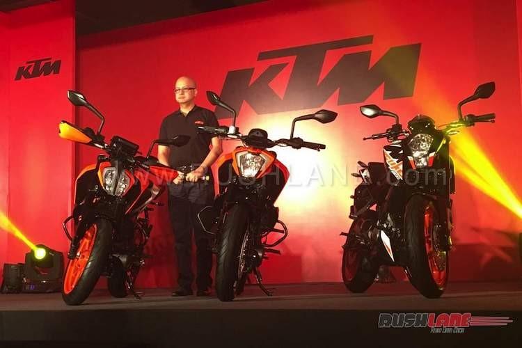 """KTM Duke 390 moi """"chot gia"""" tu 77,2 trieu tai An Do"""