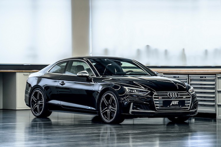 Coupe the thao Audi S5 chat hon voi goi ABT Sportsline