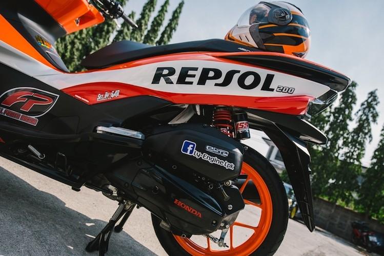 "Honda PCX150 ""sieu the thao"" phong cach Repsol-Hinh-7"