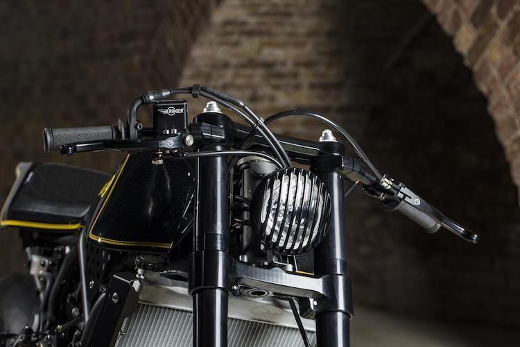 """Yamaha XSR700 cafe racer """"full carbon"""" sieu khung-Hinh-3"""