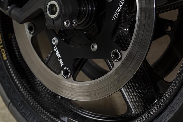 """Yamaha XSR700 cafe racer """"full carbon"""" sieu khung-Hinh-4"""