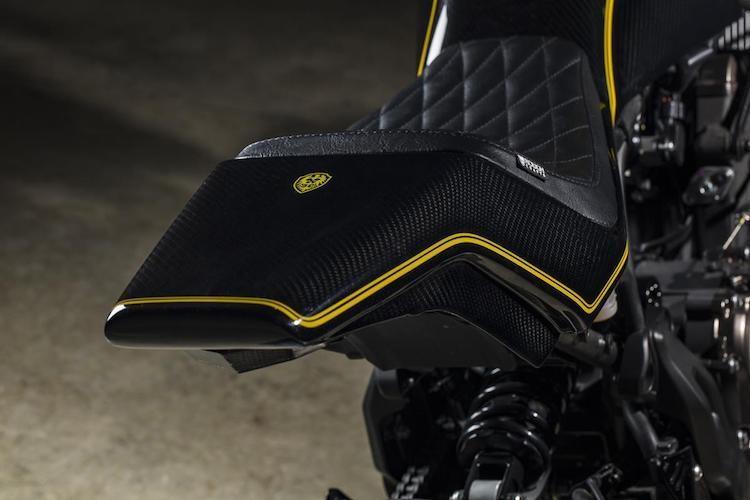 """Yamaha XSR700 cafe racer """"full carbon"""" sieu khung-Hinh-6"""