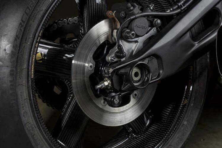 """Yamaha XSR700 cafe racer """"full carbon"""" sieu khung-Hinh-7"""