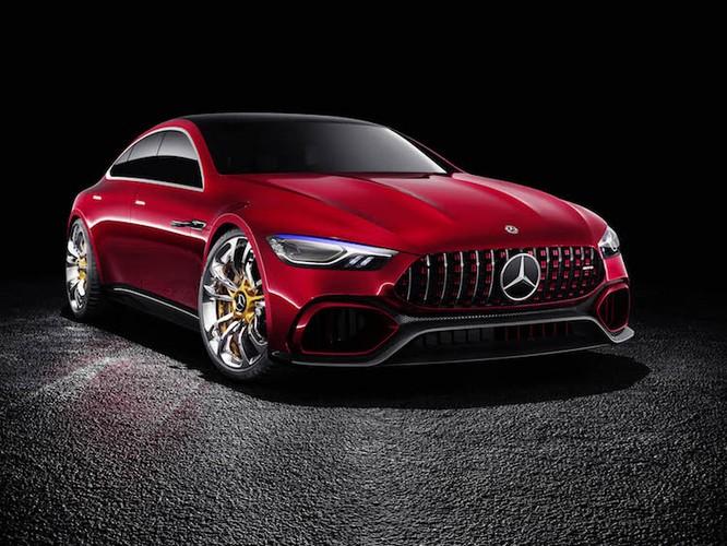 "Xem truoc sieu xe Mercedes-Benz AMG GT ""sieu dep""-Hinh-2"