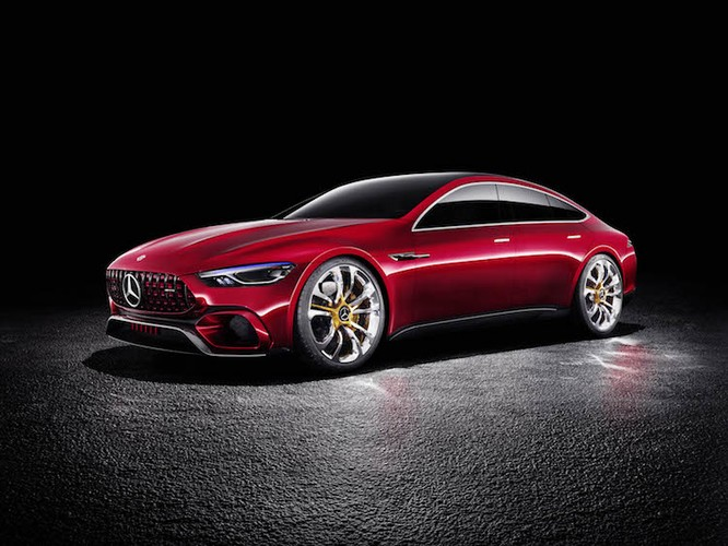 "Xem truoc sieu xe Mercedes-Benz AMG GT ""sieu dep"""