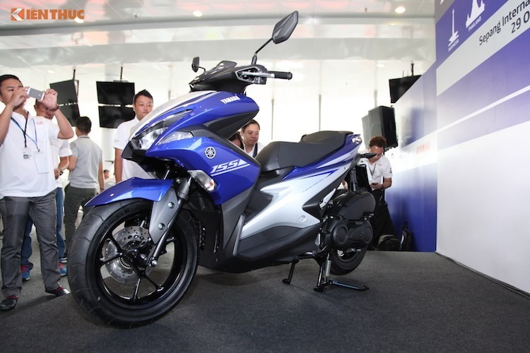 "Xe ga Yamaha NVX 155 bi khach hang Viet ""to"" day loi"