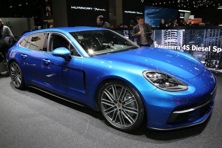 """Porsche Panamera Sport Turismo """"chot gia"""" 5,4 ty tai VN"""