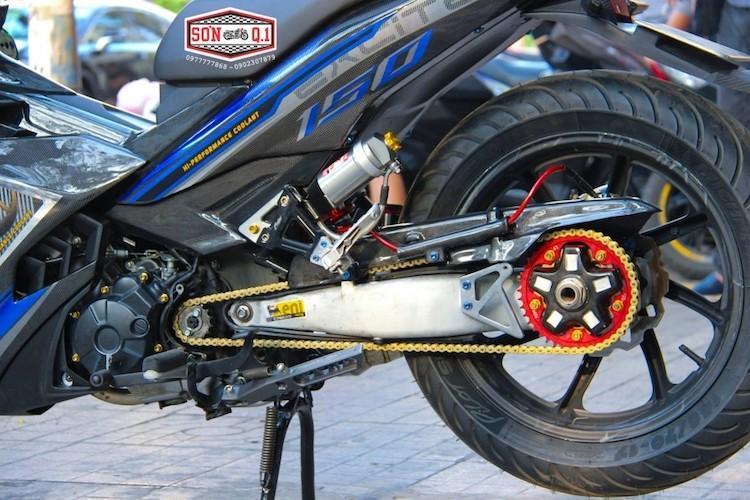 """Yamaha Exciter 150 do carbon gap N """"sieu dep"""" tai VN-Hinh-4"""