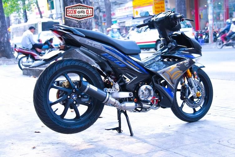 """Yamaha Exciter 150 do carbon gap N """"sieu dep"""" tai VN-Hinh-6"""