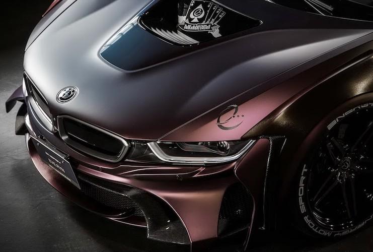 """Sieu xe BMW i8 """"sieu ngau"""" voi ban do Dark Knight-Hinh-2"""