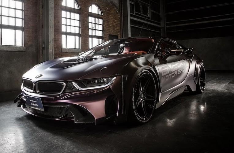 """Sieu xe BMW i8 """"sieu ngau"""" voi ban do Dark Knight-Hinh-8"""