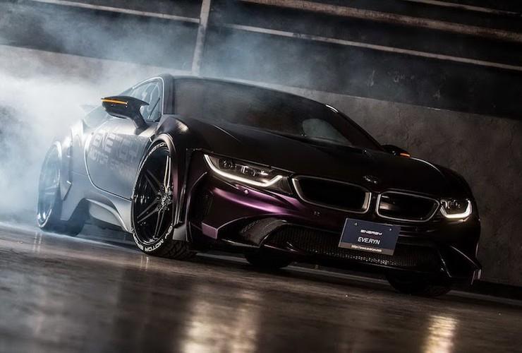 """Sieu xe BMW i8 """"sieu ngau"""" voi ban do Dark Knight"""