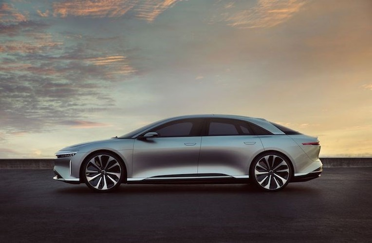 Chi tiet sieu xe dien Lucid Air chi tu 1,2 ty dong