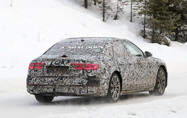 """Chua lo dien, Audi A8 the he moi da """"chot lich"""" ra mat-Hinh-4"""