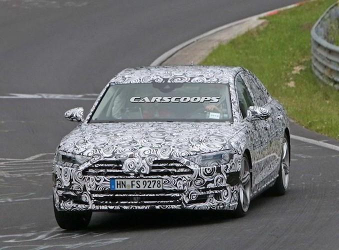 """Chua lo dien, Audi A8 the he moi da """"chot lich"""" ra mat-Hinh-5"""