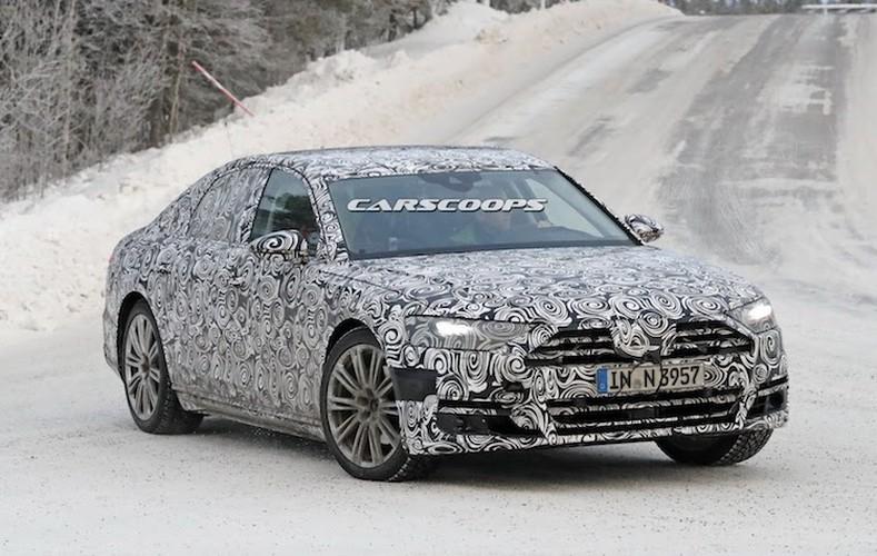 """Chua lo dien, Audi A8 the he moi da """"chot lich"""" ra mat"""