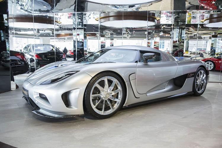 Sieu xe Koenigsegg Agera dung 7 nam van co gia 31 ty