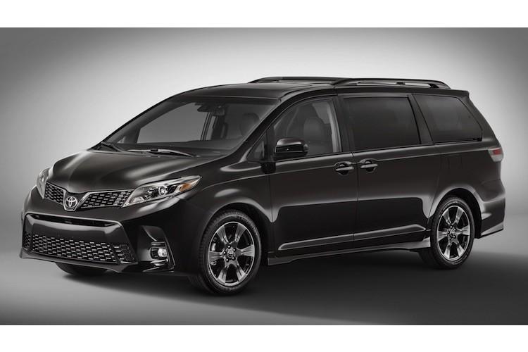 """Minivan gia dinh Toyota Sienna 2018 co gi """"hot""""?"""