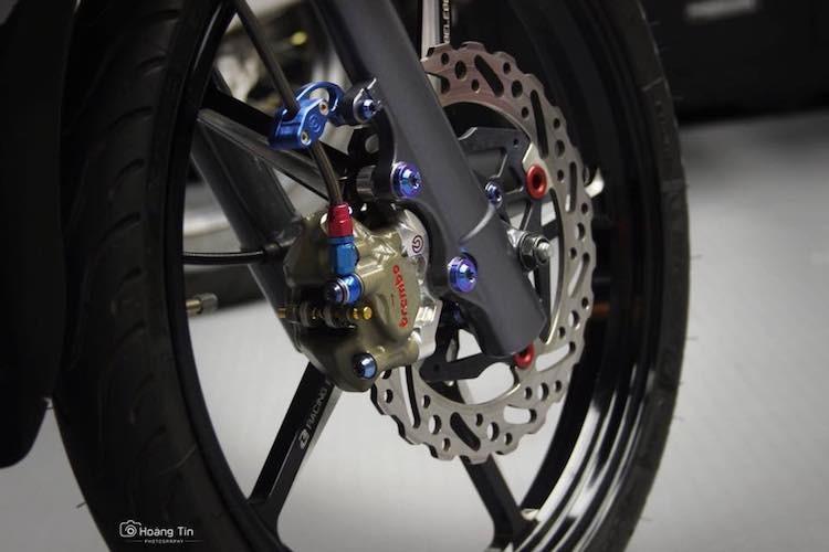 """Xe no Yamaha 125ZR do """"chan khung"""" tai Sai Gon-Hinh-3"""