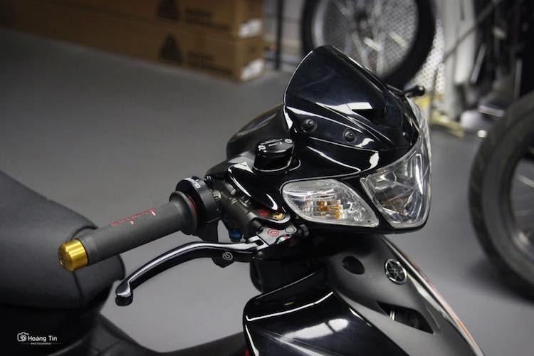 """Xe no Yamaha 125ZR do """"chan khung"""" tai Sai Gon-Hinh-4"""