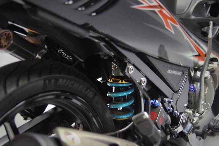 """Xe no Yamaha 125ZR do """"chan khung"""" tai Sai Gon-Hinh-6"""