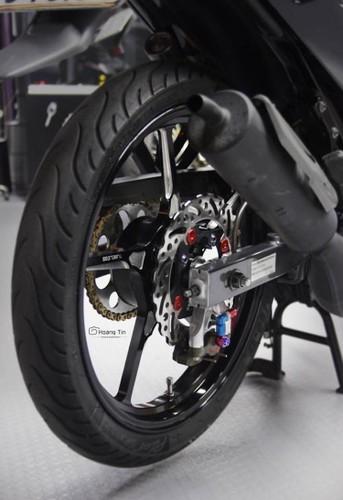 """Xe no Yamaha 125ZR do """"chan khung"""" tai Sai Gon-Hinh-7"""