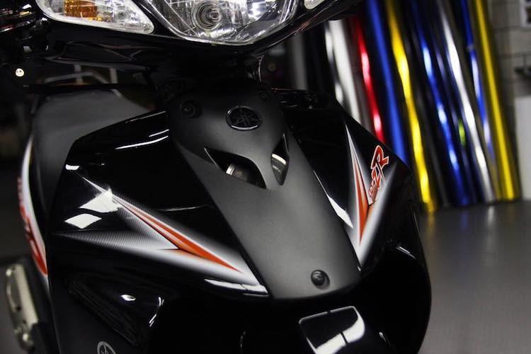 """Xe no Yamaha 125ZR do """"chan khung"""" tai Sai Gon-Hinh-8"""
