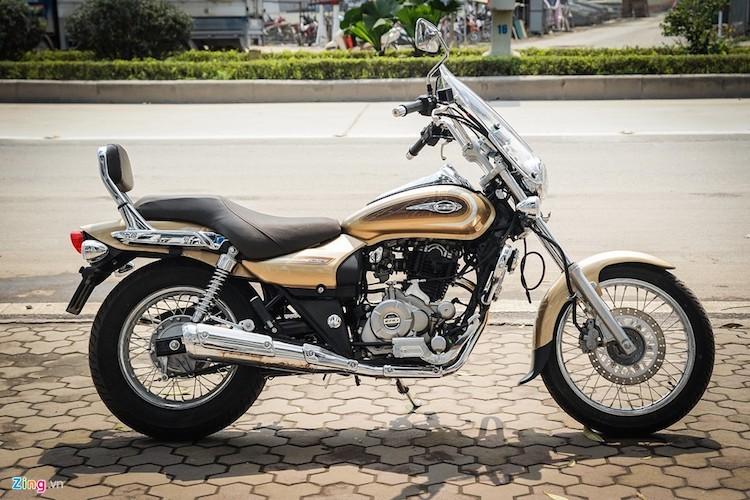 Moto PKL Bajaj Avenger gia chi hon 60 trieu tai Ha Noi-Hinh-2