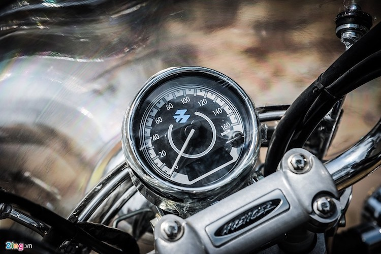 Moto PKL Bajaj Avenger gia chi hon 60 trieu tai Ha Noi-Hinh-4