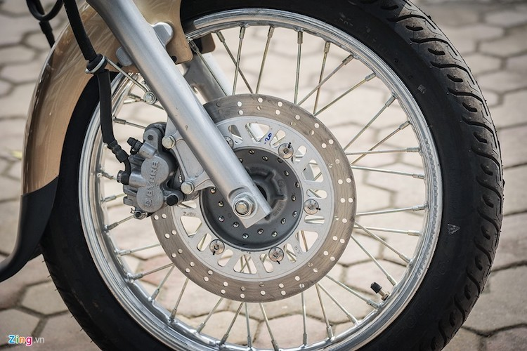Moto PKL Bajaj Avenger gia chi hon 60 trieu tai Ha Noi-Hinh-5