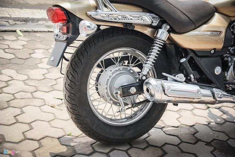Moto PKL Bajaj Avenger gia chi hon 60 trieu tai Ha Noi-Hinh-7