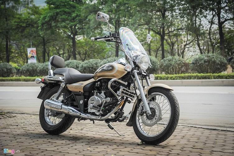 Moto PKL Bajaj Avenger gia chi hon 60 trieu tai Ha Noi
