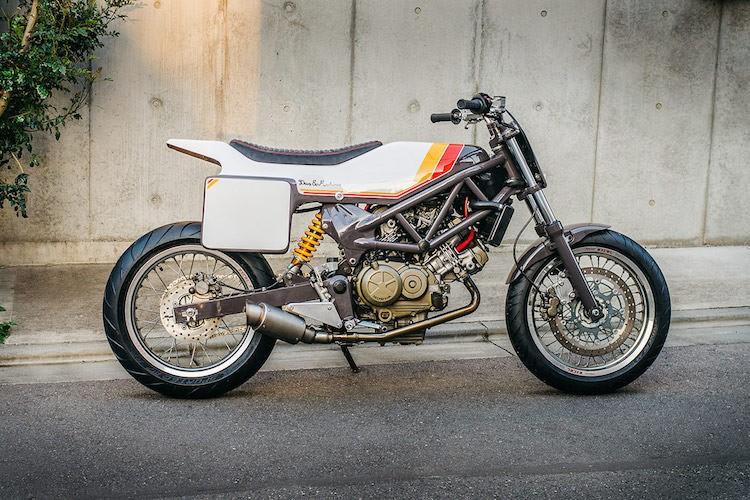 """Naked-bike Honda VTR250 """"lot xac"""" flat track cuc doc-Hinh-2"""
