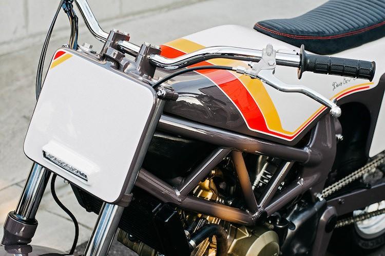 """Naked-bike Honda VTR250 """"lot xac"""" flat track cuc doc-Hinh-3"""